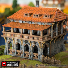 Load image into Gallery viewer, The Lost Islands - The Warehouse - 15mm 28mm 32mm Wargaming Terrain D&D, DnD, Pathfinder, SW Legion, Warhammer, 40k, Pirates