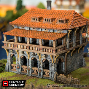 The Lost Islands - The Warehouse - 15mm 28mm 32mm Wargaming Terrain D&D, DnD, Pathfinder, SW Legion, Warhammer, 40k, Pirates