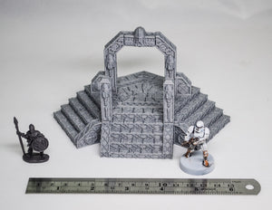Dwarves, Elves and Demons - Dwarven Portal 15mm 28mm 32mm Wargaming Terrain D&D, DnD, Pathfinder, SW Legion, Warhammer, 40k