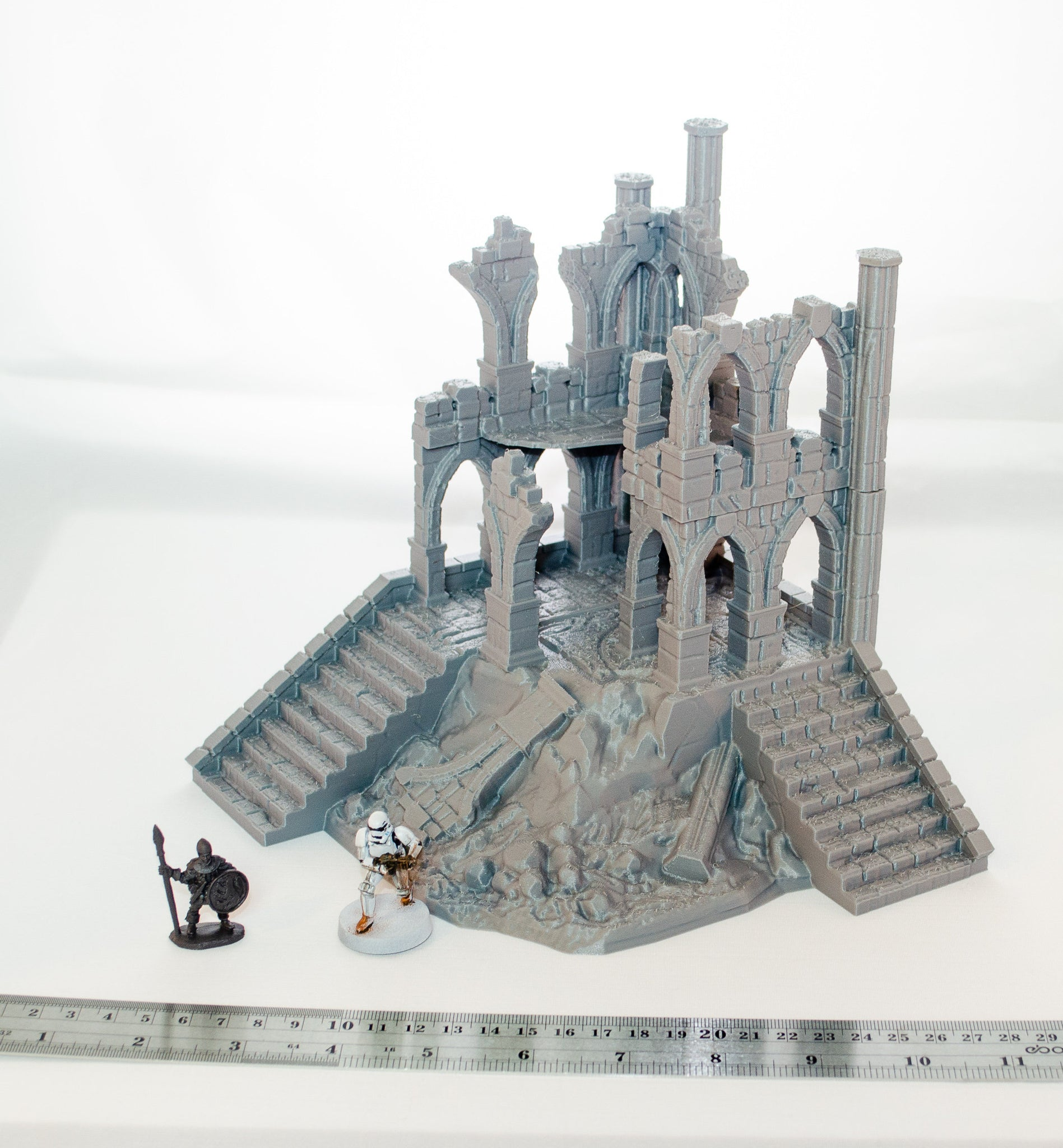 Stormguard - Ruined Tallsworth Hold 28mm 32mm Wargaming Terrain D&D