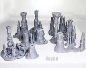 Skyless Realms - Wet Cavern Set 28mm 32mm 37mm Wargaming Terrain D&D, DnD, Pathfinder, SW Legion, Warhammer