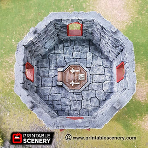 Dwarves, Elves and Demons - Dwarven Outpost 15mm 28mm 32mm Wargaming Terrain D&D, DnD, Pathfinder, SW Legion, Warhammer, 40k