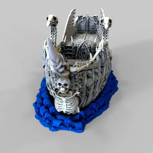 The Lost Islands - The Undead Fluyt - 28mm Wargaming Terrain D&D, Pathfinder, SW Legion, Warhammer, 40k, Pirates