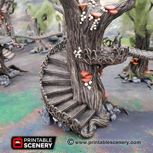 Dwarves, Elves and Demons - Elven Walkway - 28mm Wargaming Terrain D&D, DnD, Pathfinder, SW Legion, Warhammer, 40k, Pirates