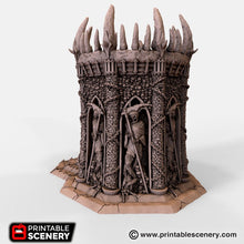 Load image into Gallery viewer, Dwarves, Elves and Demons - Temple of the Damned 28mm Wargaming Terrain D&D, DnD, Pathfinder, SW Legion, Warhammer, 40k