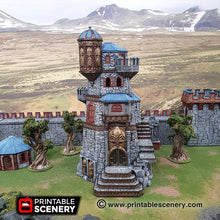 Load image into Gallery viewer, Dwarves, Elves and Demons - Ironhelm Fortress 28mm Wargaming Terrain D&D, Pathfinder, SW Legion, Warhammer, 40k