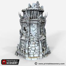 Load image into Gallery viewer, The Lost Islands - Ruined Tribal Fort - 28mm Wargaming Terrain D&D, DnD, Pathfinder, SW Legion, Warhammer, 40k, Pirates
