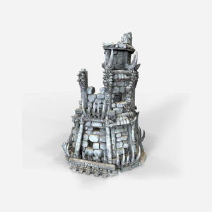 The Lost Islands - Ruined Tribal Fort - 28mm Wargaming Terrain D&D, DnD, Pathfinder, SW Legion, Warhammer, 40k, Pirates
