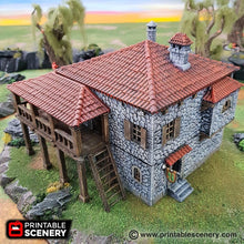 Load image into Gallery viewer, The Lost Islands - Port Tavern - 15mm 28mm 32mm Wargaming Terrain D&D, DnD, Pathfinder, SW Legion, Warhammer, 40k, Pirates