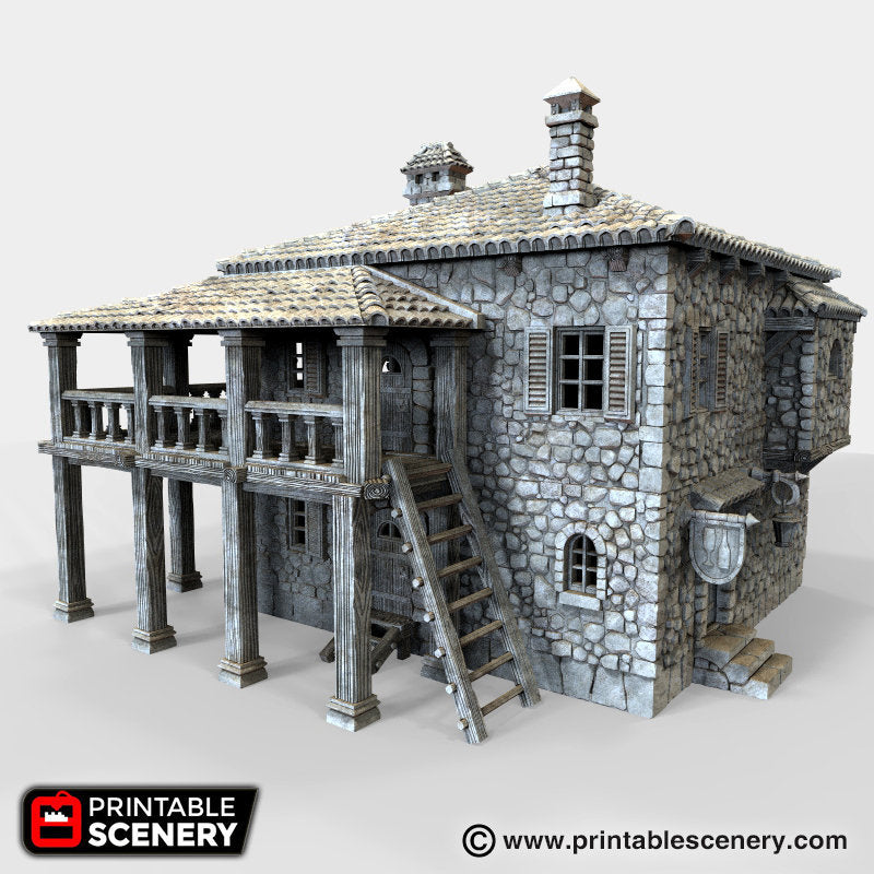 The Lost Islands - Port Tavern - 15mm 28mm 32mm Wargaming Terrain D&D, DnD, Pathfinder, SW Legion, Warhammer, 40k, Pirates