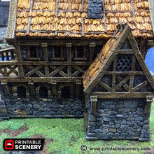 Load image into Gallery viewer, The Lost Islands - The Port Merchant - 15mm 28mm 32mm Wargaming Terrain D&D, DnD, Pathfinder, SW Legion, Warhammer, 40k, Pirates