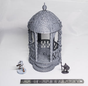 Dwarves, Elves and Demons - Shrine of Solace 28mm Wargaming Terrain D&D, DnD, Pathfinder, SW Legion, Warhammer, 40k