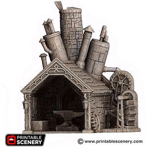 Dwarves, Elves and Demons - Dwarven Forge 28mm Wargaming Terrain D&D, DnD, Pathfinder, SW Legion, Warhammer, 40k, Steam
