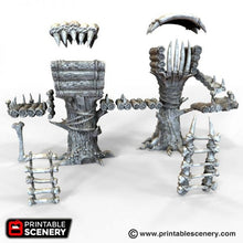 Load image into Gallery viewer, The Lost Islands - Tribal Cells - 28mm 32mm Wargaming Terrain D&D, DnD, Pathfinder, SW Legion, Warhammer, 40k, Pirates