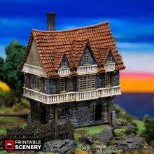 Load image into Gallery viewer, The Lost Islands - Port House - 15mm 28mm 32mm Wargaming Terrain D&D, DnD, Pathfinder, SW Legion, Warhammer, 40k, Pirates