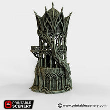 Load image into Gallery viewer, Dwarves, Elves and Demons - Tower Aeternus 28mm Wargaming Terrain D&D, DnD, Pathfinder, SW Legion, Warhammer, 40k