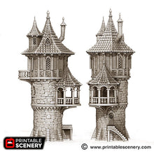 Load image into Gallery viewer, The Lost Islands - Wizard Tower - 15mm 28mm 32mm Wargaming Terrain D&D, DnD, Pathfinder, SW Legion, Warhammer, 40k, Pirates