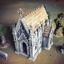 Load image into Gallery viewer, Winterdale - The Chapel 28mm 32mm Wargaming Terrain D&D, DnD, Pathfinder, SW Legion, Warhammer, 40k, Sigmar