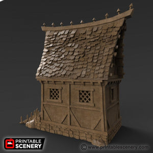 Winterdale - Small Cottage 28mm 32mm Wargaming Terrain D&D, DnD, Pathfinder, SW Legion, Warhammer, 40k, Sigmar