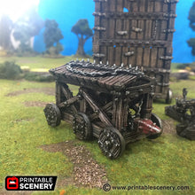 Load image into Gallery viewer, Time Warp - Battering Ram 28mm 32mm Wargaming Terrain D&D, DnD, Pathfinder, SW Legion, Warhammer, 40k