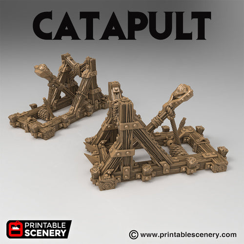 Time Warp - Catapult 28mm 32mm Wargaming Terrain D&D, DnD, Pathfinder, SW Legion, Warhammer, 40k