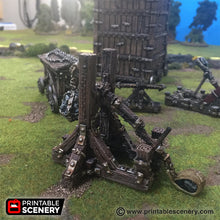 Load image into Gallery viewer, Time Warp - Trebuchet 28mm 32mm Wargaming Terrain D&D, Pathfinder, SW Legion, Warhammer, 40k