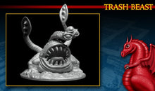 Load image into Gallery viewer, Dragonlock Miniatures - Trash Beast 28mm 32mm Wargaming Terrain D&D, DnD, Pathfinder, SW Legion, Warhammer, 40k