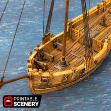 Load image into Gallery viewer, The Lost Islands - The Sloop - 28mm 32mm Wargaming Terrain D&D, Pathfinder, SW Legion, Warhammer, 40k, Pirates