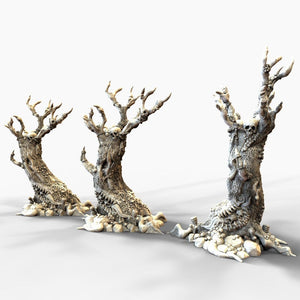 Dwarves, Elves and Demons - Vomiting Trees 15mm 28mm 32mm Wargaming Terrain D&D, Pathfinder, SW Legion, Warhammer, 40k