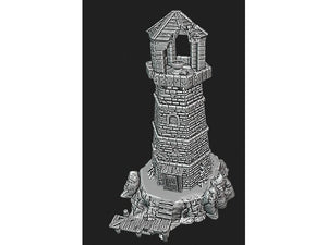 Depths of the Savage Atoll - Abandoned Lighthouse 15mm 28mm 32mm Wargaming Terrain D&D, DnD, Pathfinder, SW Legion, Warhammer