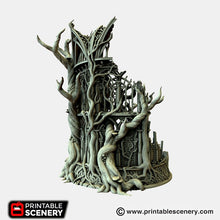 Load image into Gallery viewer, Dwarves, Elves and Demons - Lost Library of Ithillia 15mm 28mm 32mm Wargaming Terrain D&D, DnD, Pathfinder, SW Legion, Warhammer, 40k