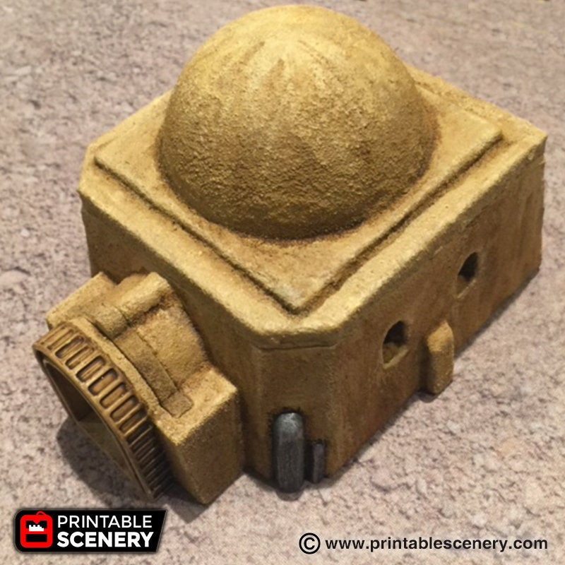 Future Buildings - Adobe Hut A 28mm 32mm Wargaming Terrain D&D, DnD, Pathfinder, SW Legion, Warhammer, 40k