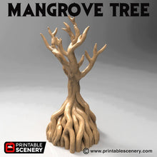 Load image into Gallery viewer, Time Warp - Mangrove Tree 28mm 32mm Wargaming Terrain D&D, DnD, Pathfinder, SW Legion, Warhammer, 40k