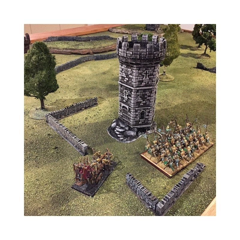 Winterdale - War Tower 28mm Wargaming Terrain D&D, DnD, Pathfinder, SW Legion, Warhammer, 40k, Sigmar