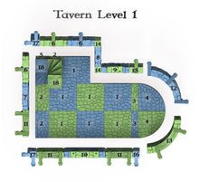 Load image into Gallery viewer, Clorehaven Tavern - 28mm 32mm Goblin Grotto Wargaming Terrain D&D, DnD, Pathfinder, SW Legion, Warhammer, 40k