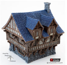 Load image into Gallery viewer, Clorehaven Townhouse - 28mm 32mm Goblin Grotto Wargaming Terrain D&D, DnD, Pathfinder, SW Legion, Warhammer, 40k