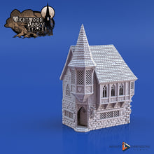Load image into Gallery viewer, Abbot's House 28mm 32mm Wightwood Abbey Wargaming Terrain D&D, DnD, Pathfinder, SW Legion, Warhammer 40k