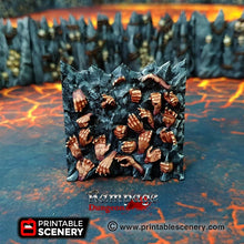 Load image into Gallery viewer, Dwarves, Elves and Demons - Caverns of Torment 15mm 28mm 32mm Wargaming Terrain D&D, DnD, Pathfinder, SW Legion, Warhammer, 40k