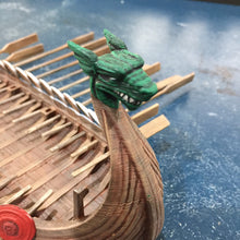 Load image into Gallery viewer, Apocalypse - Viking Long Ship 15mm 28mm 32mm Wargaming Terrain D&D, DnD, Pathfinder, SW Legion, Warhammer, 40k