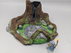 Place of Power - Sundered Heartwood Tree 15mm 28mm 32mm Wargaming Terrain D&D, DnD, Pathfinder, SW Legion, Warhammer