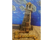 Load image into Gallery viewer, Depths of the Savage Atoll - Abandoned Lighthouse 15mm 28mm 32mm Wargaming Terrain D&D, DnD, Pathfinder, SW Legion, Warhammer