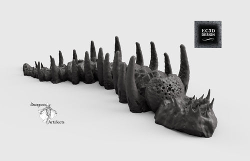 Leviathan Remains - 15mm 28mm 32mm Depths of the Savage Atoll Wargaming Terrain D&D, DnD, Pathfinder, SW Legion, Warhammer