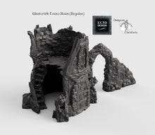 Load image into Gallery viewer, Wintertide Tower Ruins - 15mm 28mm 32mm Wilds Wargaming Terrain D&D, DnD, Pathfinder, SW Legion, Warhammer