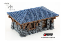 Load image into Gallery viewer, Clorehaven Cottage - 28mm 32mm Goblin Grotto Wargaming Terrain D&D, DnD, Pathfinder, SW Legion, Warhammer, 40k