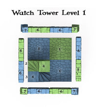 Load image into Gallery viewer, Clorehaven Watch Tower - 28mm 32mm Goblin Grotto Wargaming Terrain D&D, DnD, Pathfinder, SW Legion, Warhammer, 40k