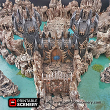Load image into Gallery viewer, Hellgate - 15mm 28mm 32mm Clorehaven and Goblin Grotto Wargaming Terrain Scatter D&D, DnD, Pathfinder, Warhammer, 40k