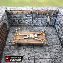 Load image into Gallery viewer, Torture Tools - 28mm 32mm Clorehaven and Goblin Grotto Wargaming Terrain Scatter D&D, DnD, Pathfinder, Warhammer, 40k