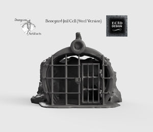 Ribcage Jail Cell - 15mm 28mm 32mm Wilds of Wintertide Wargaming Terrain D&D, DnD, Pathfinder, SW Legion, Warhammer
