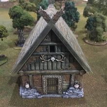 Load image into Gallery viewer, Viking House - Rampage Gothic Barbarian Terrain D&D, DnD, Pathfinder, SW Legion, Warhammer, 40k, Sigmar