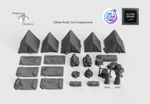 Load image into Gallery viewer, Ultimate RPG Camp Set - 28mm 32mm Cast N Play Hero's Hoard Wargaming Tabletop Scatter Miniatures Terrain D&D, DnD, Pathfinder, Warhammer